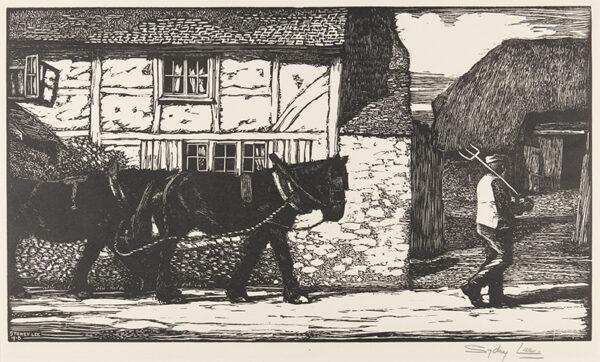 LEE Sydney R.A. S.W.E. (1866-1949) - 'The Village Street' (RM.