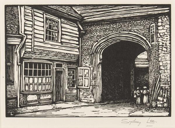 LEE Sydney R.A. S.W.E. (1866-1949) - 'The Gatehouse' (RM.