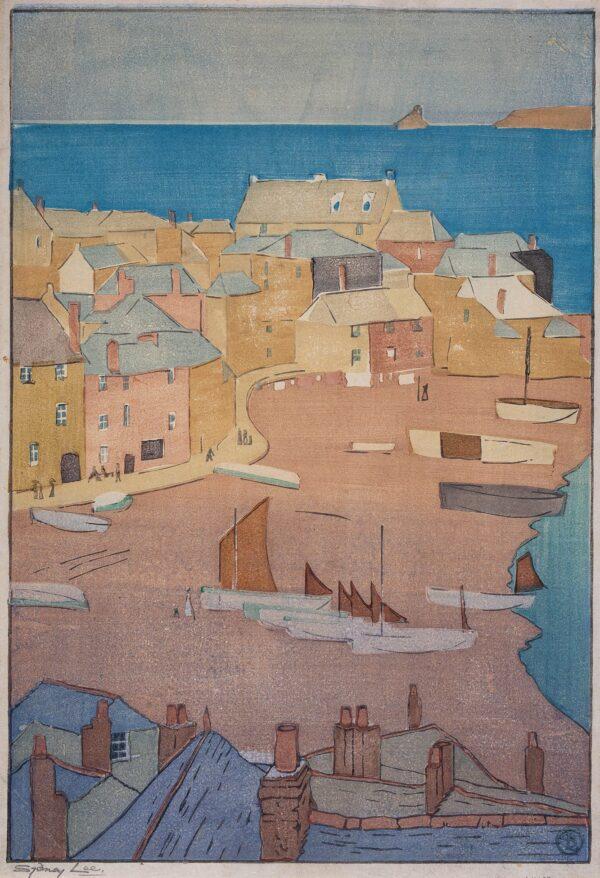 LEE Sydney R.A. (1866-1949) - 'St Ives Harbour' (RM.