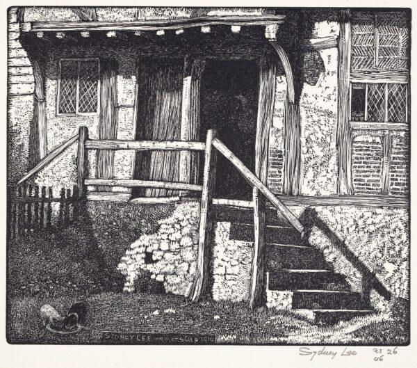 LEE Sydney R.A. (1866-1949) - 'The Cottage Doorway'.