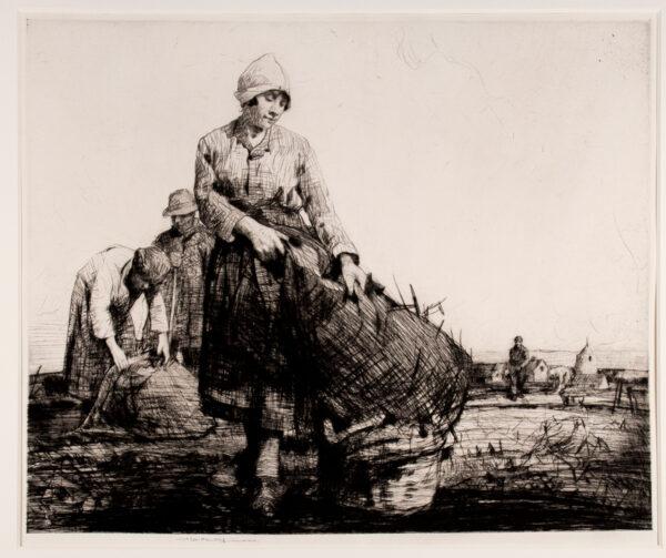 LEE-HANKEY William R.W.S. R.E. (1869-1952) - 'Sur le terrain'.