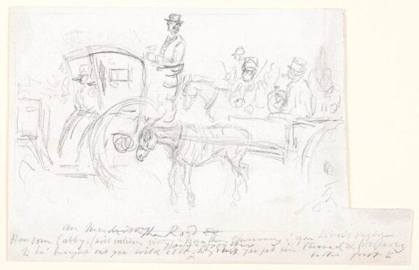 LEECH John (1817-1864) - Cockney Traffic.