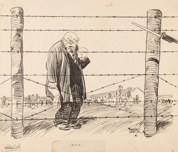 LEETE Alfred (1882-1933) - Schmidt the Spy: 'S-O-S'.