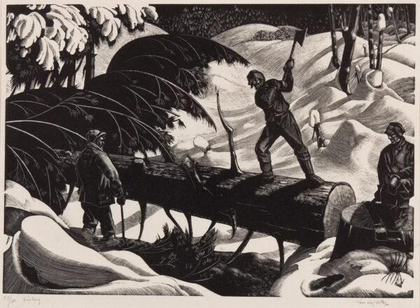 LEIGHTON Clare (1898-1989) - 'Limbing'.