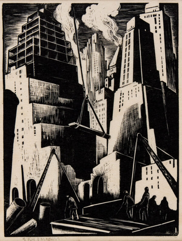 Clare LEIGHTON (1898-1989) - Exhibition of wood-engravings from the Collection of HiIlaire Belloc.