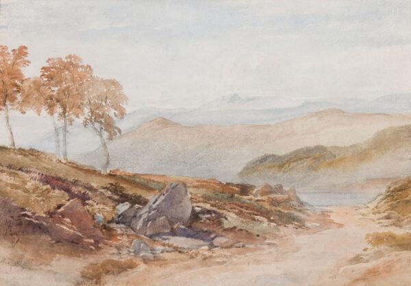 LEITCH William Leighton P.R.I. (1804-1883) - In the Highlands.