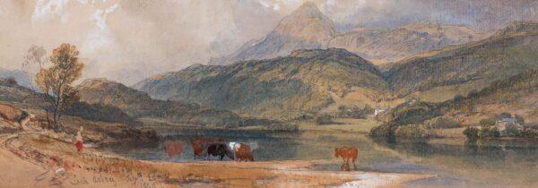 LEITCH William Leighton R.I. (1804-1883) - 'Loch Achray', Perthshire.