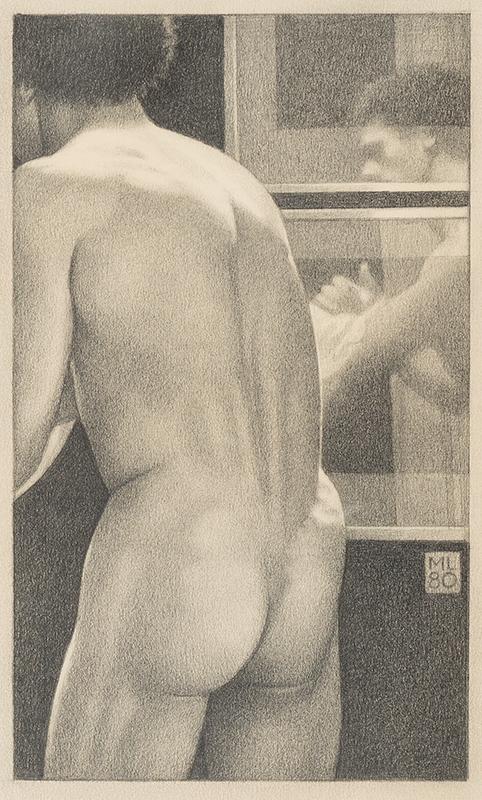 LEONARD Michael (b.1933) - 'Man's Back and Reflection'.