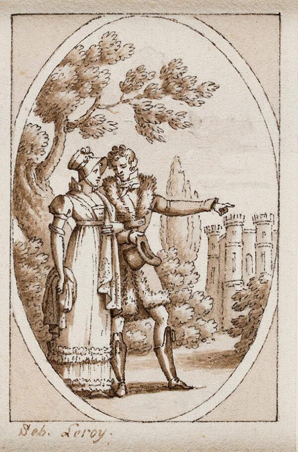 LEROY Sebastien (1770-1832) - A Napoleonic Romance.