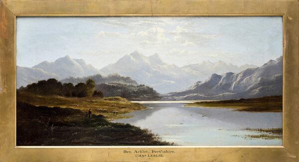 LESLIE Charles (1839-1886) - 'Ben Arklet, Perthshire'.