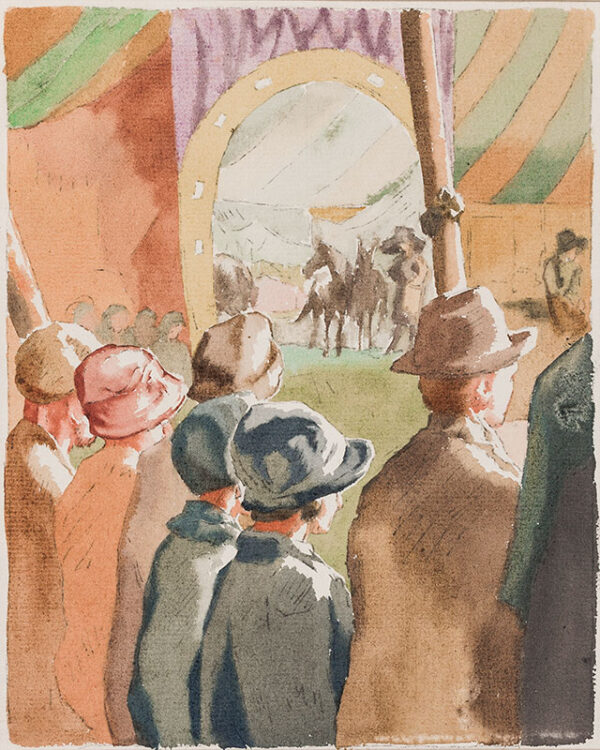LESSORE Therese (1884-1945) - 'Bill's Circus'.