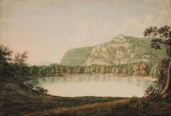LISTER Harriet (1753-1821) (Mrs Amos Green from 1796) - Lake in ?North Wales.