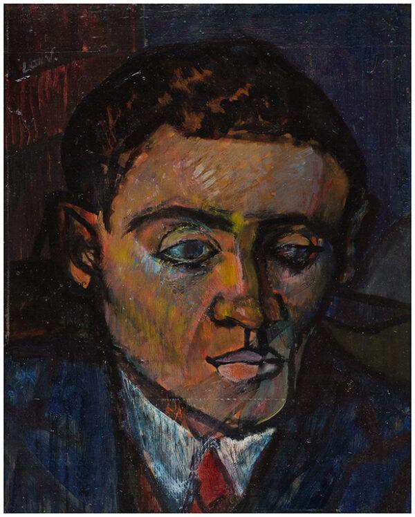 LOW Bet (1924-2007) - 'Australian Journalist – head of a man'.