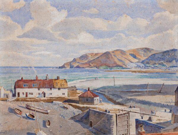 LYONS-WILSON William (1892-1981) - A Cornish Estuary.