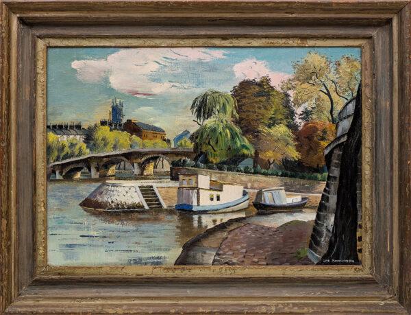 MACKINNON Sine (1901-1996) - 'Ile de la Cite', Paris.