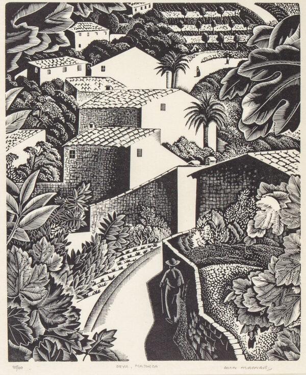 MACNAB Iain R.E. (1890-1967) - 'Deya, Majorca'.