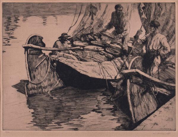 MACNAB Iain (1890-1967) - 'Friesian Fisherman'.