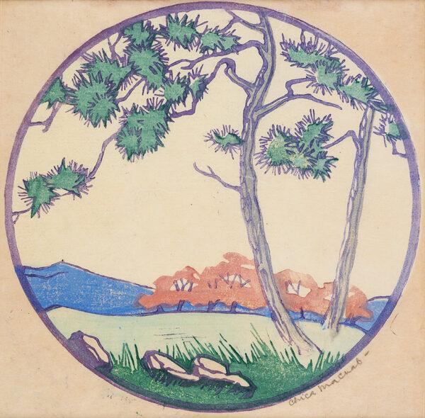 MACNAB Chica (1889-1960) - The Pine Tree.