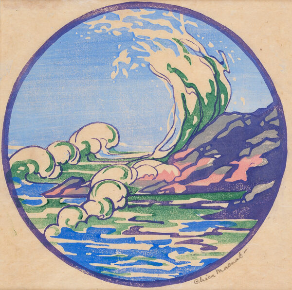 MACNAB Chica (1889-1960) - The Breaking Wave.