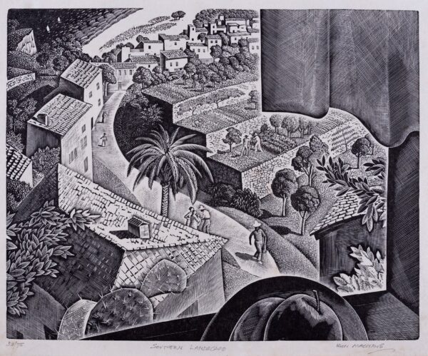MACNAB Iain 1890-1967) - 'Southern Landscape'.