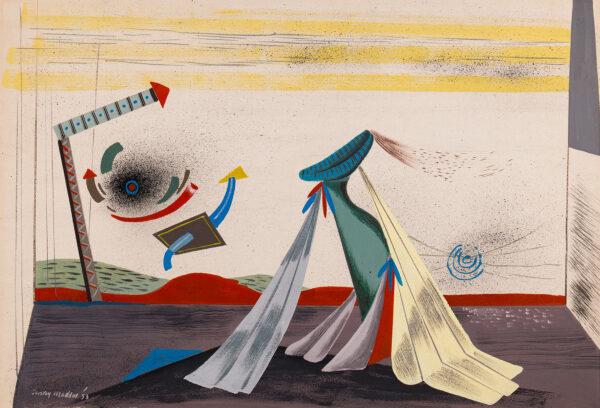 MADDOX Conroy (1912-2005) - 'Metamorphosis'.