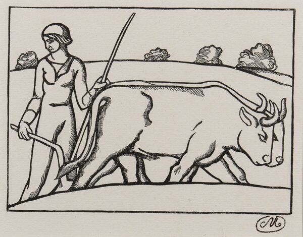MAILLOL Aristide (1861-1944) - Ploughing.