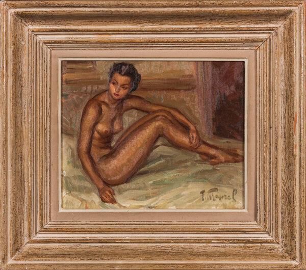 MAJOREL Fernand (1898-1965) - Une Lyonnaise.