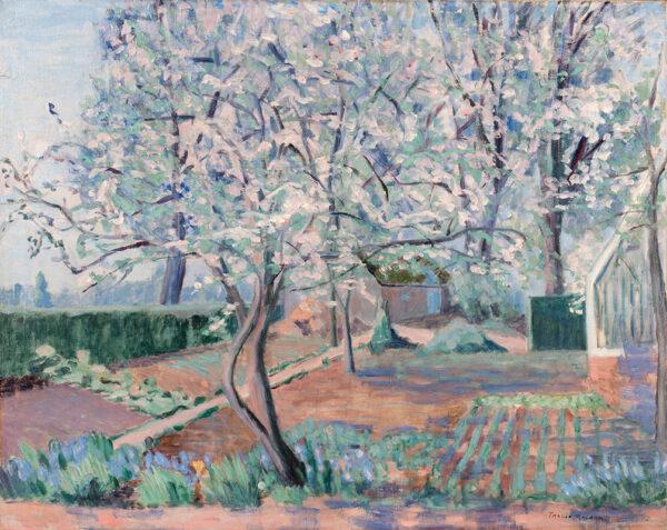 MALCOLM Thalia Westcott (U.S.A. b.1885) - Garden in Provence.