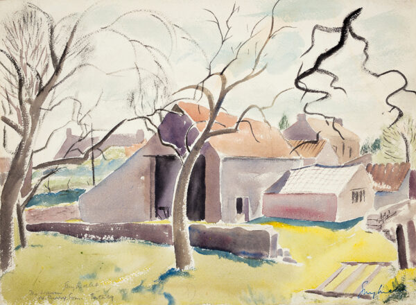 MALET Guy Seymour Warre (1900-1973) - 'The Warren, North Curry', Somerset.