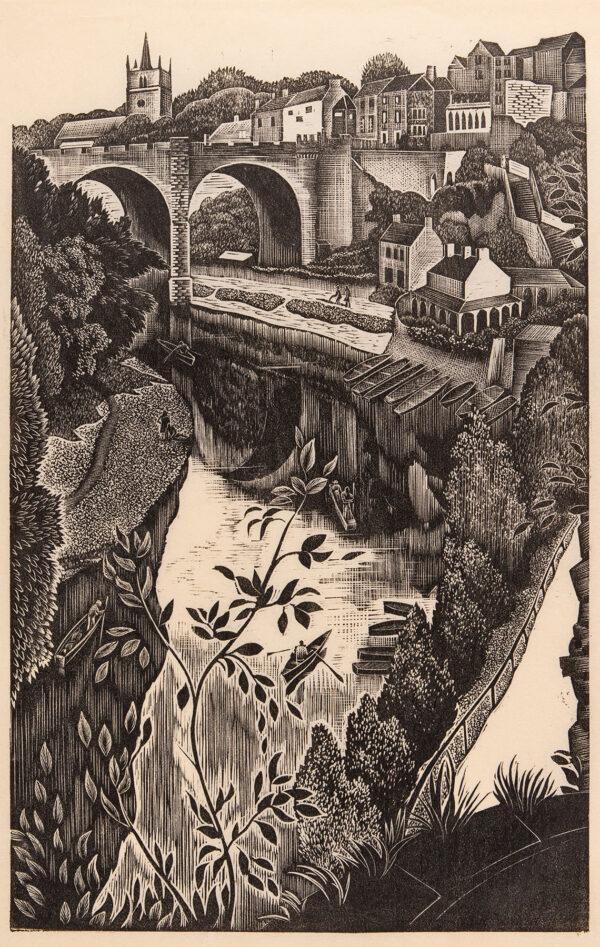 MALET Guy Seymour Warre (1900-1973) - 'Knaresborough'.