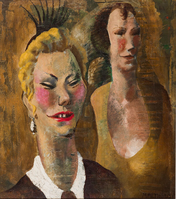 MALTHOUSE Eric (1914-1997) - Night Out.