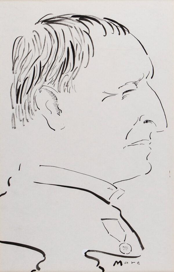 BOXER Mark AKA 'MARC' (1931-1988) - Richard Rogers R.