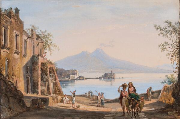 MARLAY Catherine Louisa (nee Tisdall) (1796 - 1882) - Naples.