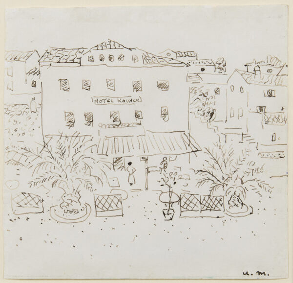 MARQUET Albert (1875-1947) - 'Hotel Kovalis'.