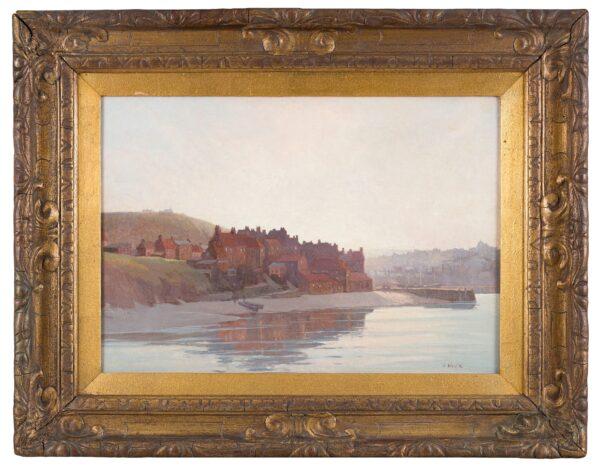 MASE John Edmund (1889-1952) - Whitby from the sea.