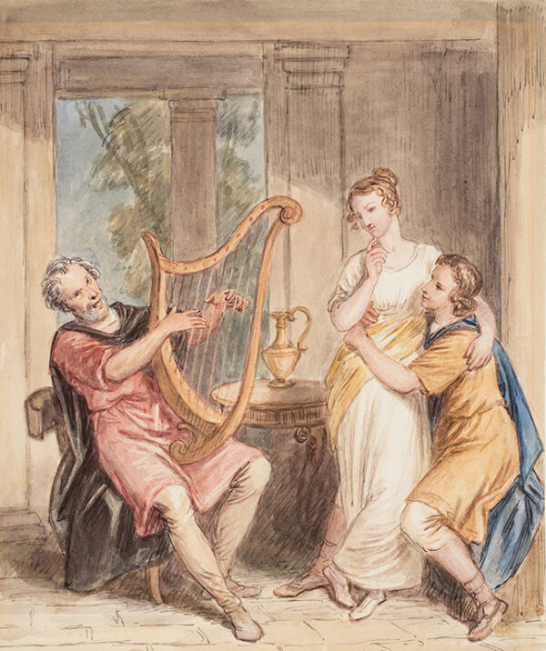 MASEY WRIGHT John (1777-1866) - 'Troilus and Cressida'.