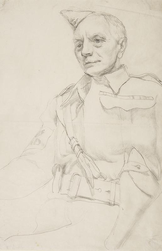 MASON Raymond (1922-2010) - 'Captain Reid, Home Guard'.