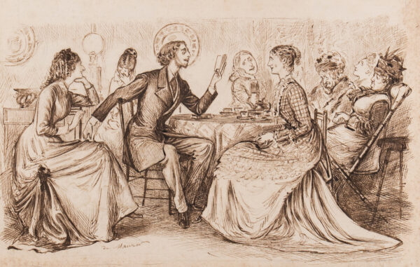 MAURIER du George (1834-1896) - The Poet comes to Tea.