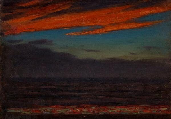 MAVROGORDATO Alexander (1869-1947) - Sunset over the Sea.