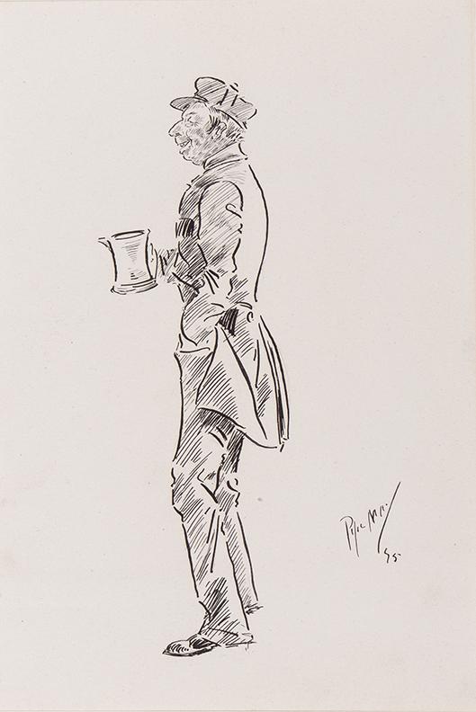 MAY Phil (1864-1903) - A Pint.