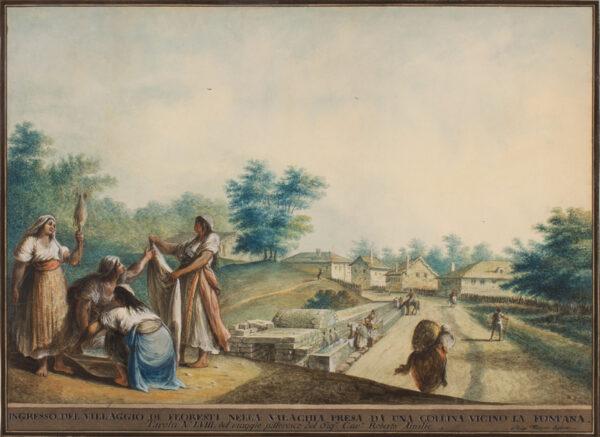 MAYER Luigi (c.1755-1803) - Romania.