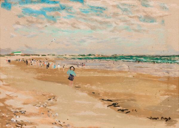 MAZE Paul (1887-1979) - 'The kite'.