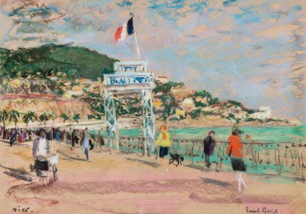 MAZE Paul (1887-1949) - 'Nice'.
