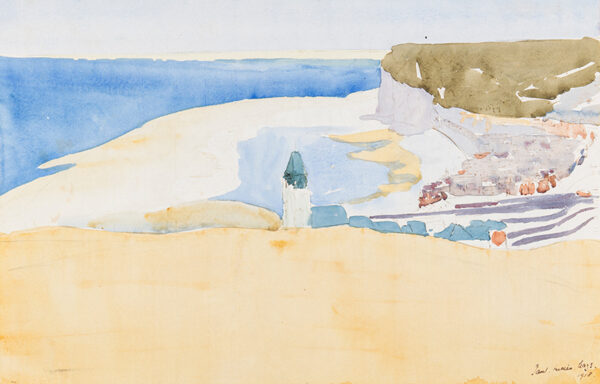 MAZE Paul Lucien (1887-1979) - The Coast of Normandy.
