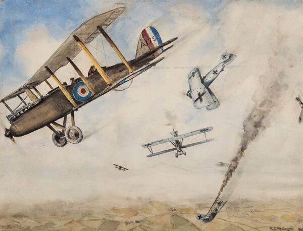 McCARTHY R.C. (fl.1918) - WWI Dogfight.
