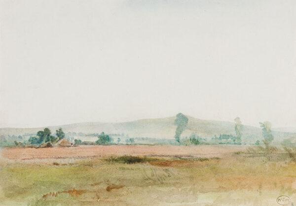 McEVOY Ambrose A.R.A. (1878-1927) - Landscape study.