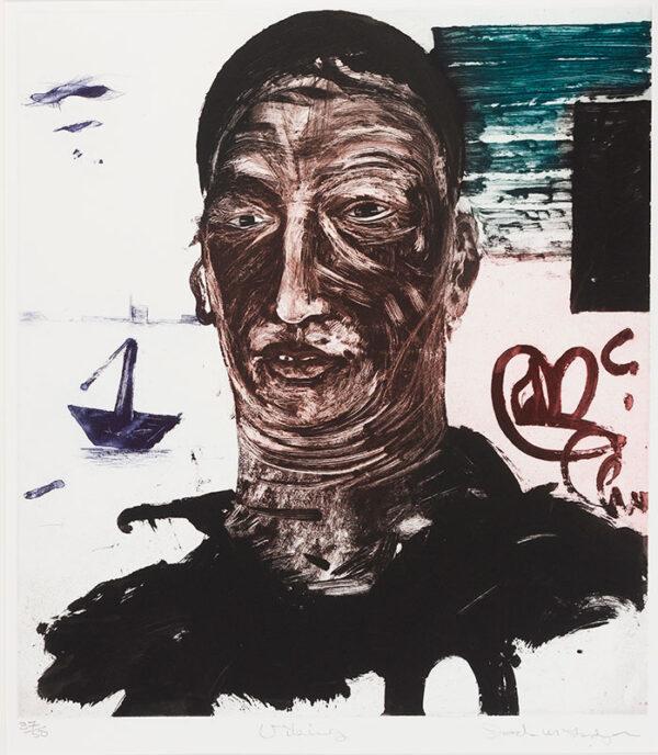 McFADYEN Jock R.A. (b.1950) - 'Viking'.