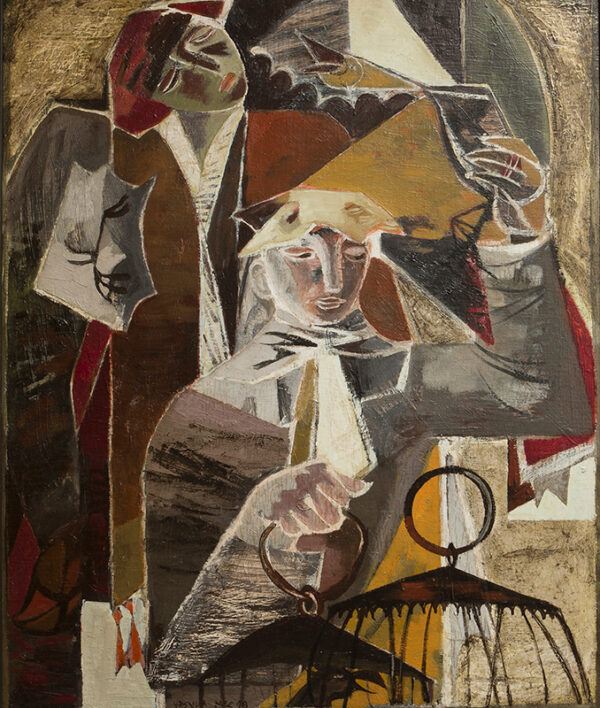 MCCANNELL Ursula (1923-2015) - 'The Bird Sellers'.