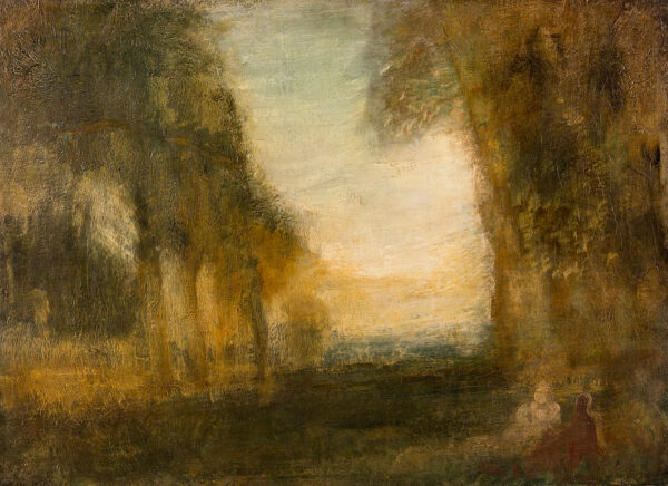 MCEVOY Ambrose A.R.A. (1878-1927) - 'Hommage to Turner'.