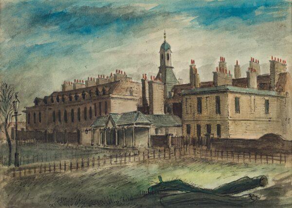MEADE John Edward F.R.S.A. (1909-1982) - Kensington Palace – post-war.
